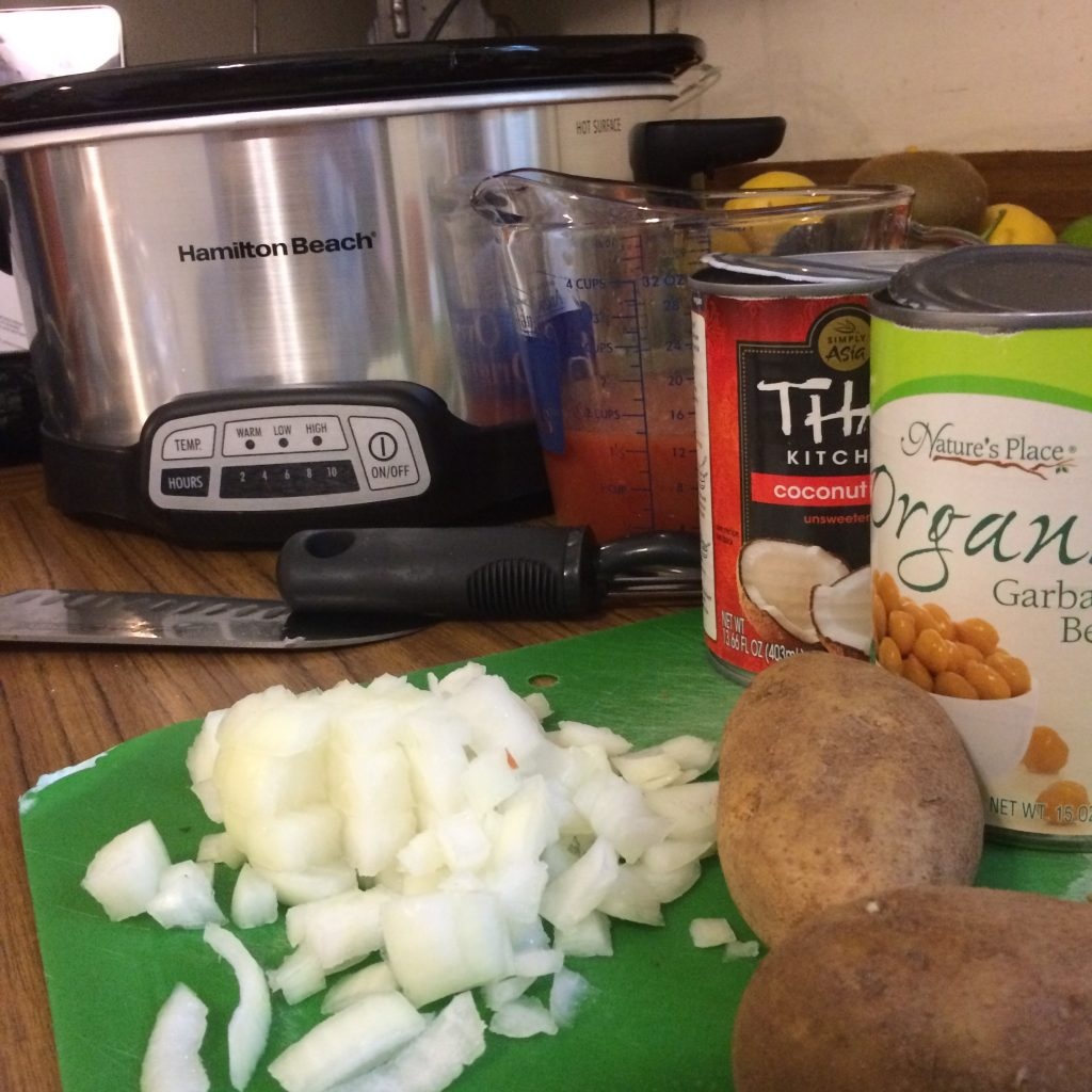 Butter Chickpea Ingredients