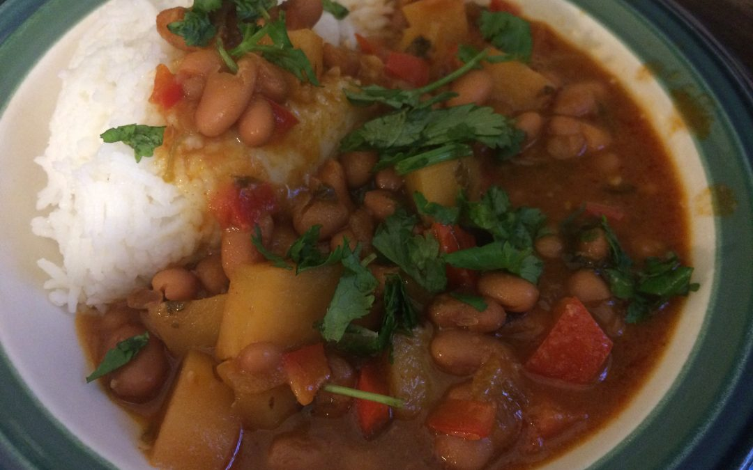 Puerto Rican Style Red Beans and Rice