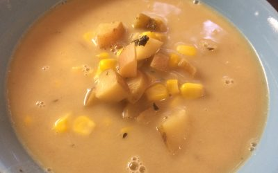 Slow Cooker Corn Chowder Warms The Soul