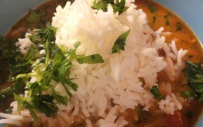 Thai Shrimp Red Curry