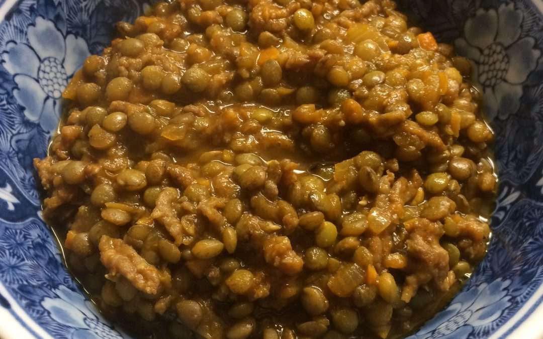 Rosemary French Lentil Sausage Stew