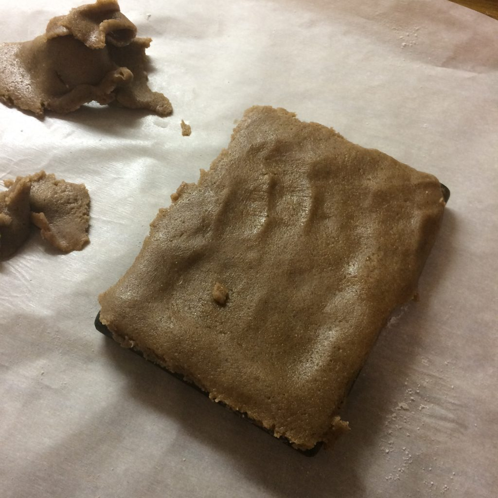 Speculaas dough in Mold