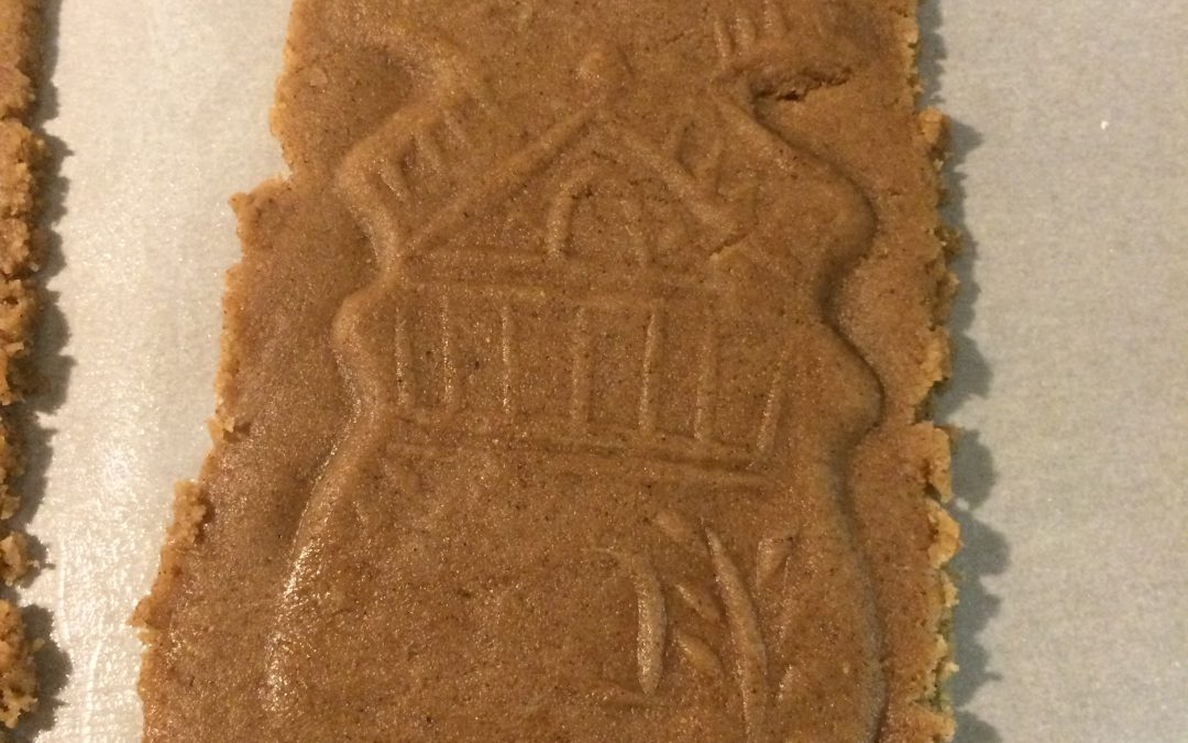 Dutch Speculaas Cookies for Sinter Klaas