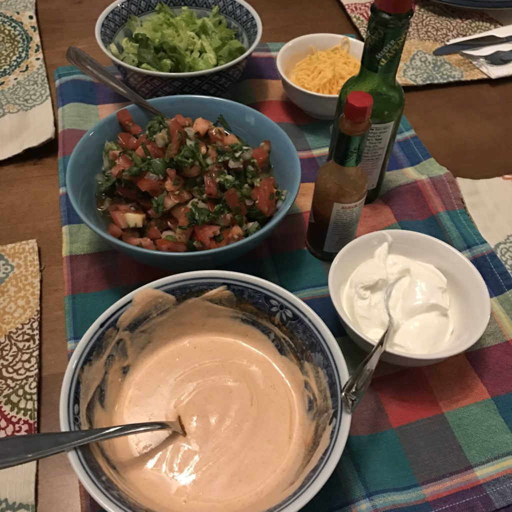 Fish Tacos Toppings