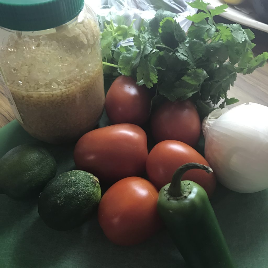 salsa pico de gallo ingredients