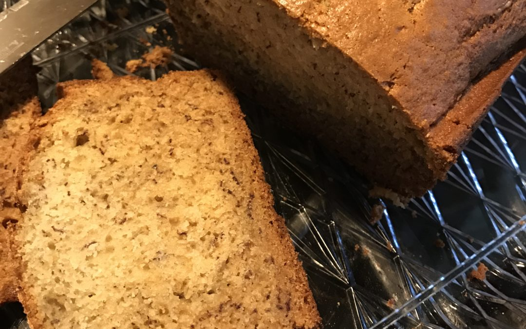 No Waste Banana Bread