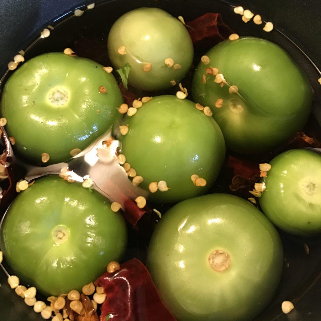 Tomatillo Red-Chile Salsa