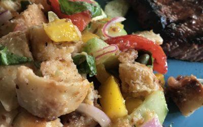 Easy Breezy Summer Panzanella Salad