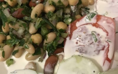 Simple Bean Salad for a Side or a Meal