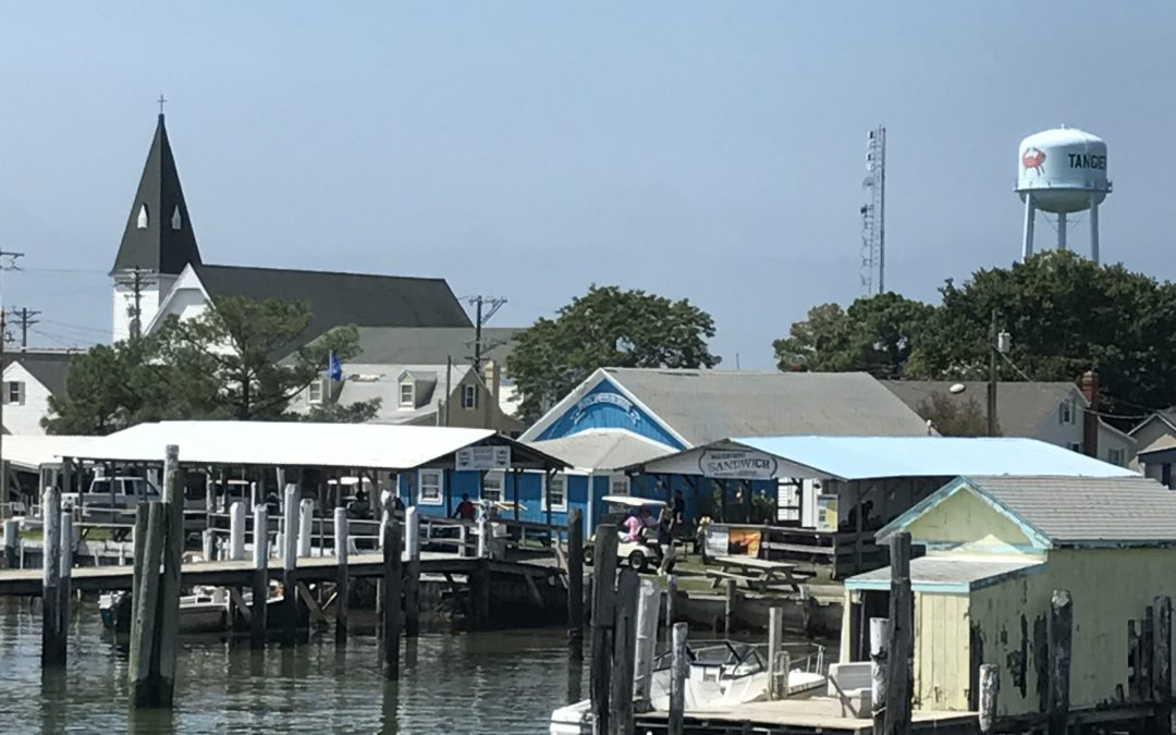 Disappearing Tangier Island