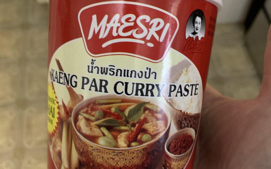 Slow Cooker Thai Chicken Wild Rice Soup